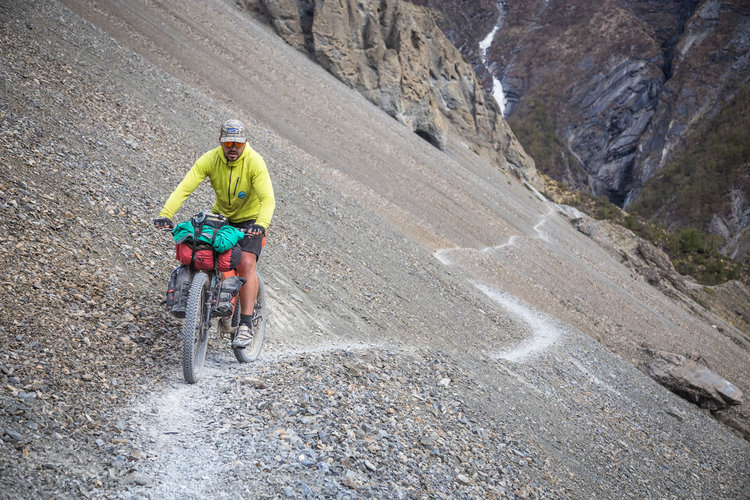 annapurna cycling route